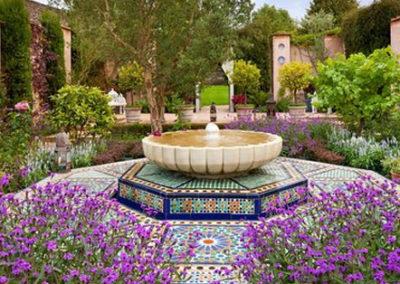 Highgrove House – Garden Fountain